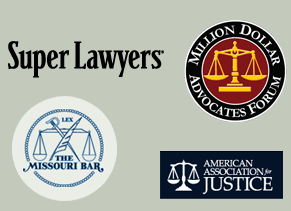 The Missouri Bar Million Dollar Advocates Forum Super Lawyers American Association for Justice